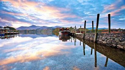 Dock Wallpapers Reflections River Clouds Docks Px
