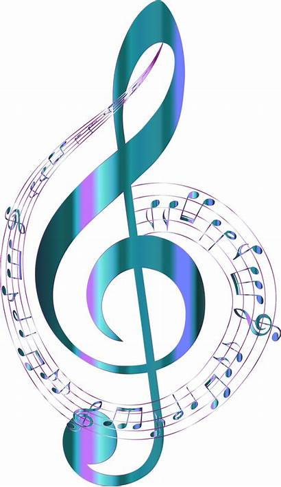 Notes Background Musical Turquoise Designs Tattoo Openclipart