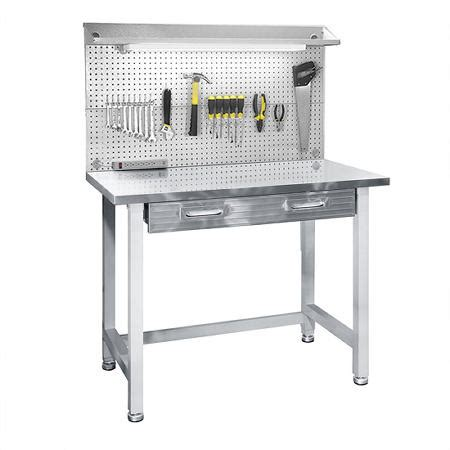 seville classics ultrahd lighted stainless steel top