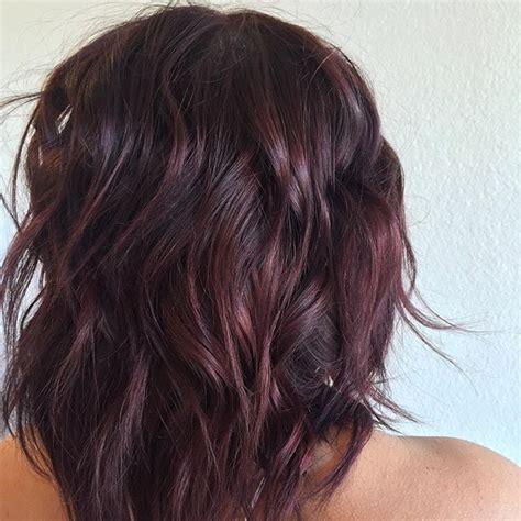 deep brown  burgundy wine hair burgundy hair