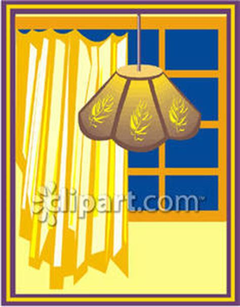 hanging dining room light royalty  clipart picture