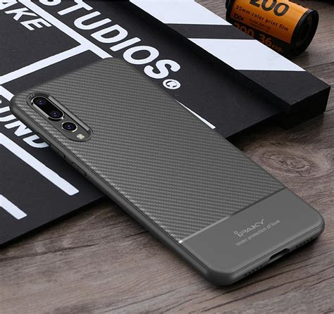 ipaky case  huawei p pro lite carbon fiber  cover