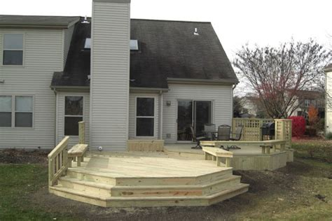 deck builders columbus ohio treated wood decks