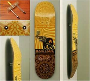 Skateboard Deck Display
