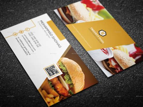 Simple Restaurant Business Card By Shohag4y Best App For Business Cards To Outlook Moo Australia Timber Laminated Design Auckland Staples Dimensions Avery Online Visiting Making