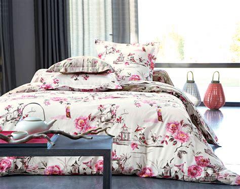 linge de lit tapisserie japonaise becquet cr 201 ation becquet