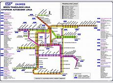 Zagreb Tram Zagrebacki Tramvaj