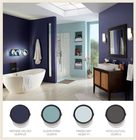 Behr Colors For Bathroom by Colorfully Behr Bathroom Color Splendor