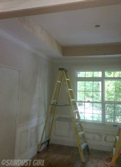Box Beam Ceiling by How To Build A Box Beam Ceiling Sawdust 174