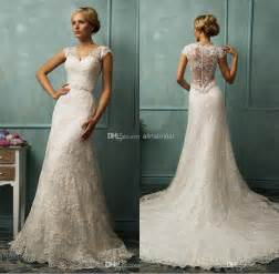 vintage lace wedding dresses with sleeves vintage lace wedding dresses handese fermanda