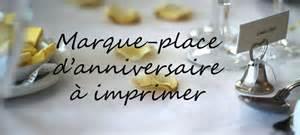 marque place mariage gratuit a imprimer marque place anniversaire à imprimer