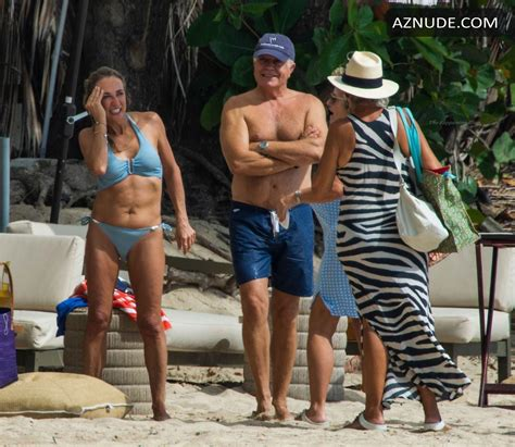 Michelle Cockayne Sexy Hits The Beach While On Holiday In