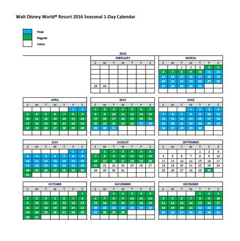seasonal pricing breakdown walt disney world touringplanscom blog