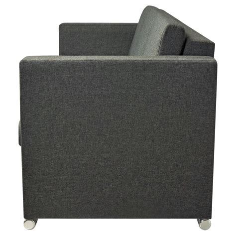 divani di stoffa vidaxl divano a 3 posti in stoffa grigio scuro vidaxl it