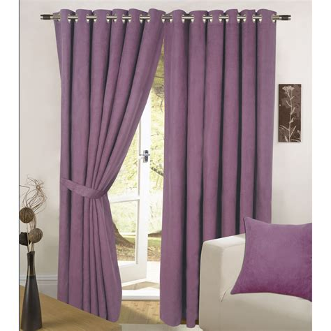 faux suede eyelet single curtain