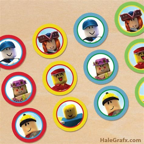 printable roblox cupcake toppers roblox