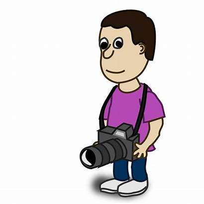 Clip Photographer Cliparts Camera Attribution Forget Link