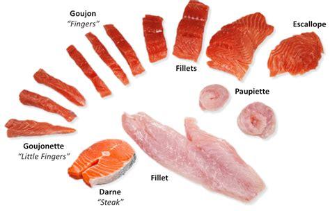 fish  shellfish fabrication methods  culinary pro