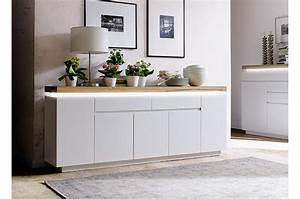Buffet Salon Blanc : grand buffet blanc bois massif ~ Teatrodelosmanantiales.com Idées de Décoration