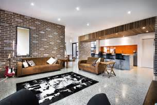 home design and decor house decorated in brick veneer inside and out modern house designs