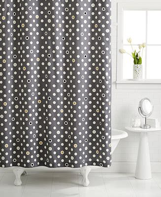 martha stewart shower curtains closeout whim by martha stewart collection pop dot shower