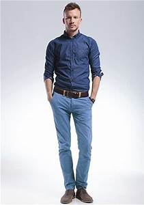 What shirt can I wear with blue pants? - Quora