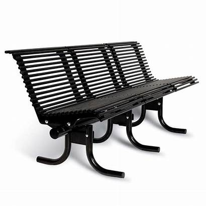 Bench Outdoor Palmetto Seat Benches Street Ultraplay