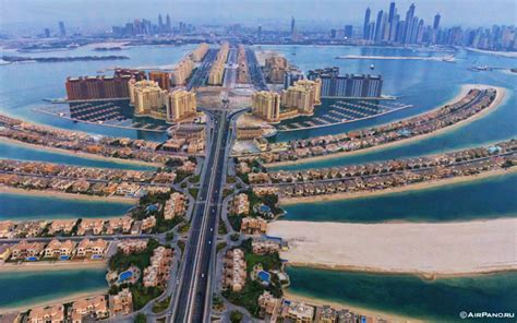 Aerial Views Of Palm Jumeirah