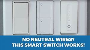 Lutron Caseta Wireless Smart Lighting Dimmer Switch Wiring