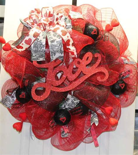 super beautifuly sweet wreaths ideas  valentines days