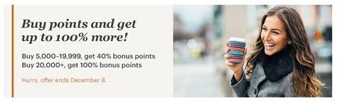 100% bonus on buying IHG Rewards Club Points extended ...