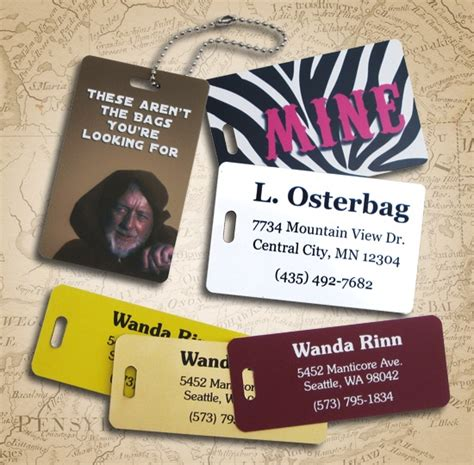 46 Unique Stock Of Luggage Tag Insert Template Luggage Tags Archives Name Tag Experience