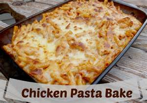 Quick Chicken Pasta Bake