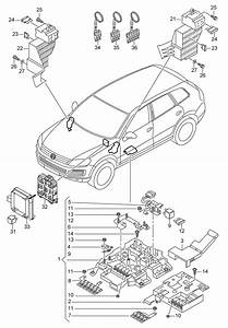 Volkswagen Touareg  2011 - 2012