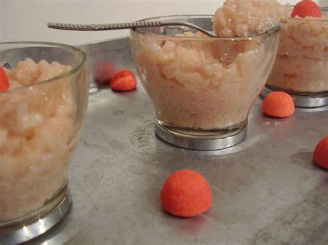 riz au lait aux fraises tagada recette