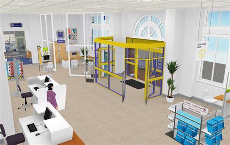 bureau de la poste idées 3com la poste un bureau de poste virtualisé