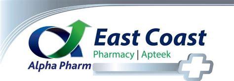Apha Pharmacy by East Coast Pharmacy Logo Boost Oxygen Sa