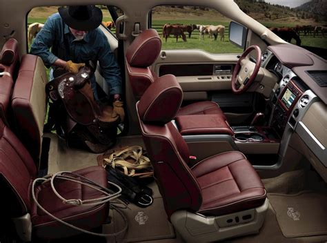 image  ford   king ranch interior size