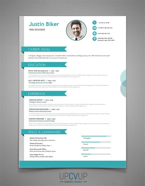 Modele De Cv Word 2015 by Cv Word 2017