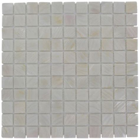 splashback tile of pearl castel monte white 12