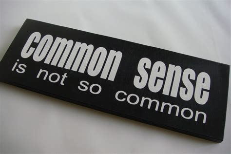 Logic And Common Sense, A Not So Common Trait  Onyx Truth