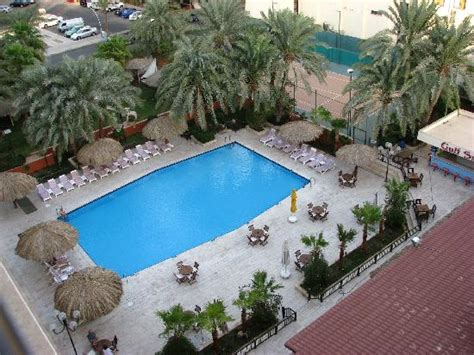 View of pool from room - Picture of Aqaba Gulf Hotel ...