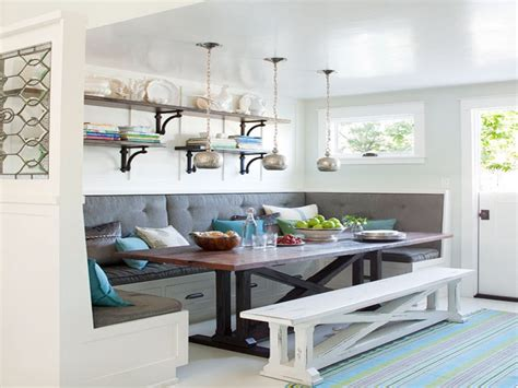 Living Room Seating For Small Spaces, Banquette Seating