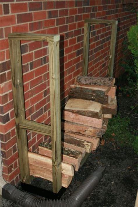 outdoor log rack bracket kit slrk