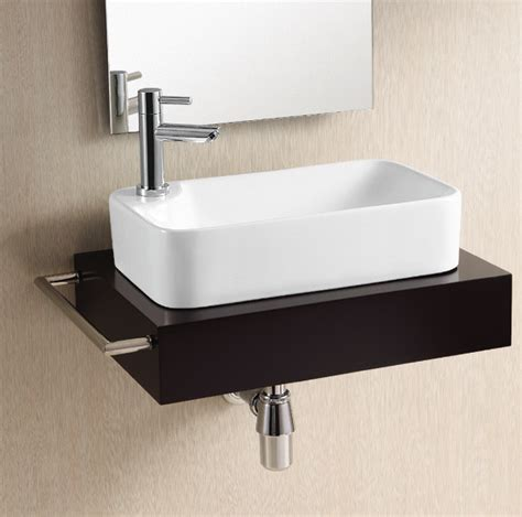 rectangular vessel bathroom sinks gorgeous modern rectangular vessel sink by caracalla