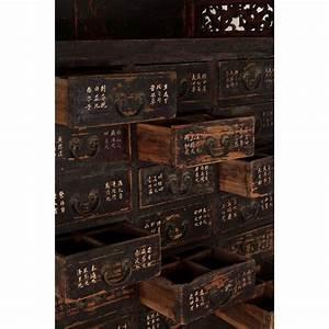 Meuble D Apothicaire : meuble d apothicaire oriental spirit gallery ~ Teatrodelosmanantiales.com Idées de Décoration