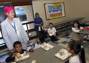Students meet goals, so Clairmont Elementary Principal ...