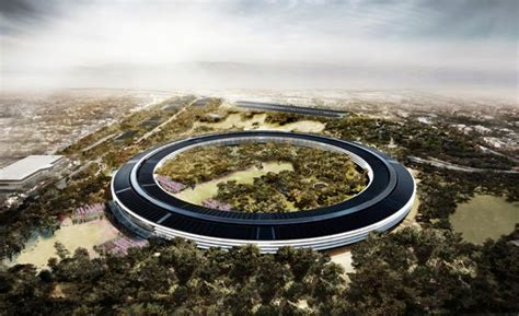 siege social apple apple 39 s headquarters in cupertino damn cool pictures