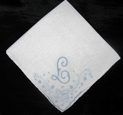monogram m handkerchiefs initial handkerchief by monogram handkerchief for women initial a b n l or m