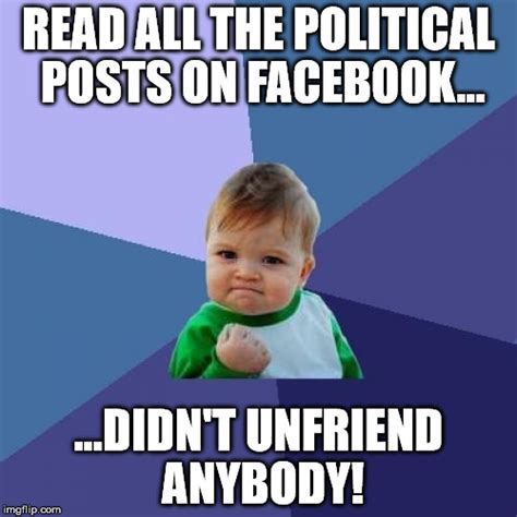 How To Post A Meme On Facebook - unfriend imgflip